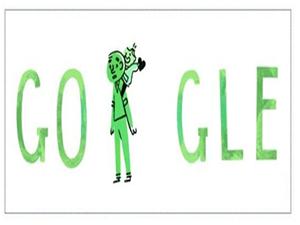 Google'dan babalar gününe özel doodle