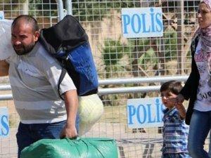 Sınır kapısı açıldı, Akçakale'den Tel Abyad'a geçişler başladı