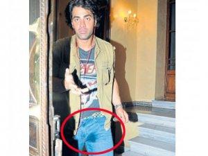 Sarp Levendoğlu hem apartmana hem de altına işedi!
