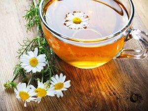 Bir bardak papatya çayı kafi!