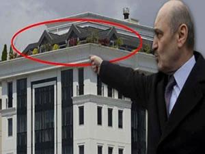 Çevre Bakanı da bunu yaparsa.. Erdoğan Bayraktar kaçak kat çıktı!