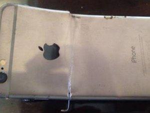 İphone 6 neredeyse elinde patladı!