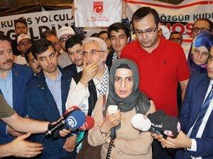 İsrail'de gözaltına alınan 7 Türk yurda döndü