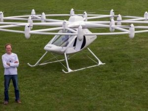 Helikopter değil Volocopter!