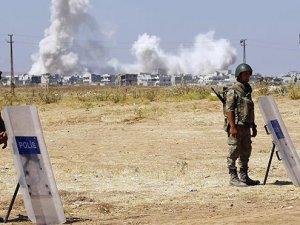 Sınırda hareketli dakikalar: IŞİD militanlarının bulunduğu bina patladı
