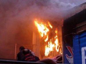 Alışveriş merkezinde çıkan yangın can aldı: Bir ölü