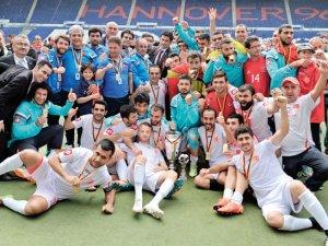 İşitme engelliler, Avrupa Şampiyonu oldu