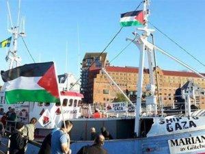 İsrail 3. Özgürlük Filosu'na uluslararası sularda müdahale etti
