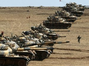 Sınırda Tank takviyesi!