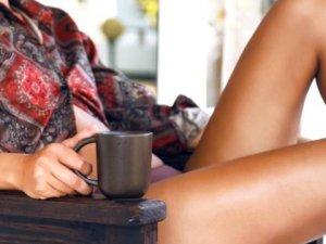 Zayıflama çayı içti, hamile kaldı!