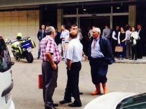 Adalet Bakanlığı'na silahlı saldırı