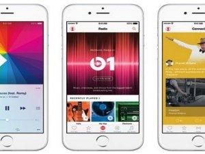 Apple müzik yayına veriliyor!