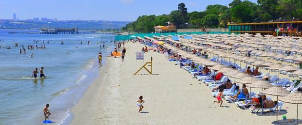 İstanbul plajları yaza hazır