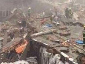 Çin'de ayakkabı fabrikası çöktü: 14 kayıp