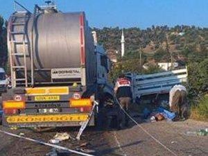 Manisa'da feci kaza: 15 kişi vefat etti