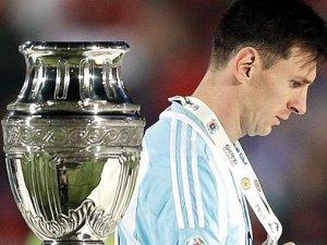 Messi'ye yine hüsran