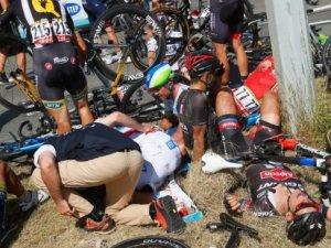 Fransa'da zincirleme bisiklet kazası