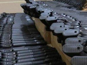 İzmir'de 214 tüfek ele geçirildi!