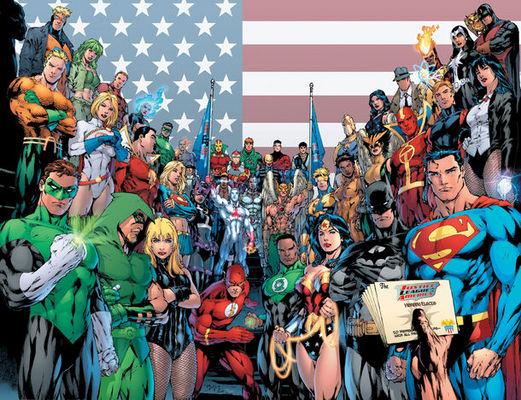 Dc Comics kahramanları Kanyon'da sevenleriyle buluşuyor