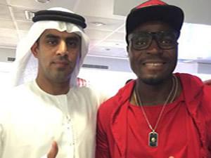 Emenike'ye Dubai Karşılaması