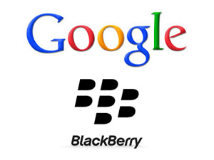 Google ve Blackberry el ele!