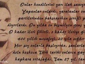 Devlet kanalı TRT'de Atatürk'e hakaret videosu yayınladı
