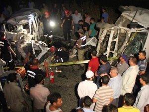 Şanlıurfa'daki kazada 5 kişi öldü!