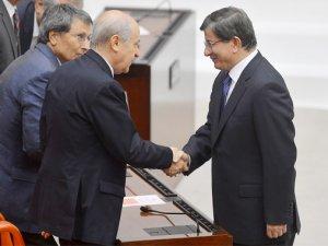 AKP-MHP koalisyon görüşmeleri başladı