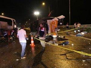 TEM'de katliam gibi kaza: 6 ölü