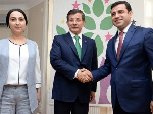 AKP- HDP koalisyon görüşmesi başladı