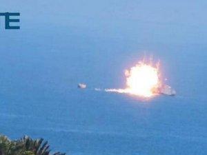 IŞİD, Mısır gemisini vurdu
