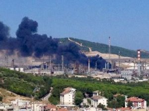 Tüpraş'ta yangın çıktı!