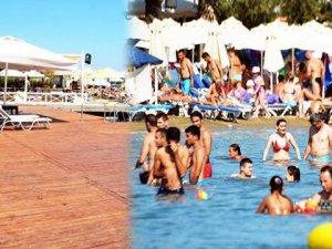 Bodrum'da Beach Club'ler boşaldı!