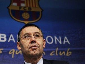 Barcelona'da Bartomeu yeniden başkan