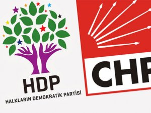 CHP'den HDP'ye ret!