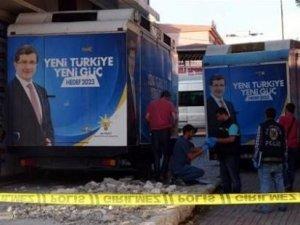 AKP ilçe binasında bomba alarmı