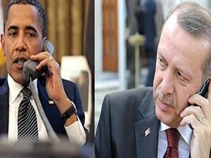 Erdoğan ile Obama telefonda IŞİD'i görüştü