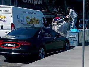 CHP ve MHP önündeki şüpheli araçların sırrı çözüldü