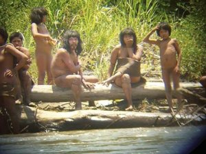 Amazon'da o kabileyle ilk temas hazırlığı