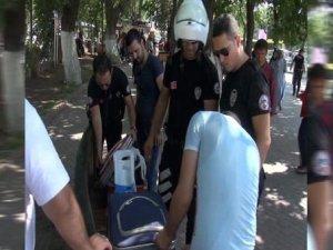 Gaziantep'te canlı bomba alarmı korkuttu