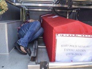 Acının dili yok: Şehit polisin eşinden Tayvanca ağıt