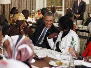 Obama, Kenya'da akrabalarını ziyaret etti