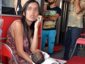Bebeğiyle kaçırıldı kocası şikayetçi olmadı