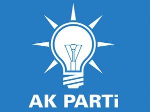 AK Parti Binası önüne ses bombası atıldı