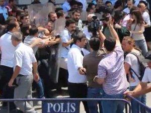 İstanbul Adliyesi'nde arbede