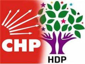 CHP ve HDPliler Saray'a gitmedi