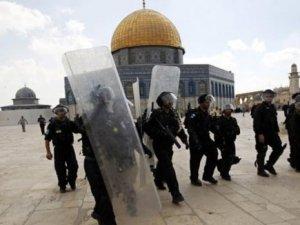 İsrail'e Mescid-i Aksa tepkisi