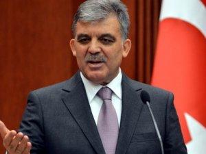 Abdullah Gül açıklama yaptı