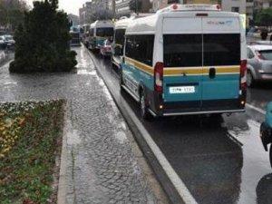 Klimayı açmayan şoföre para cezası