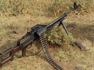 PKK'lılar teçizatlarını çatışma yerinde bıraktı